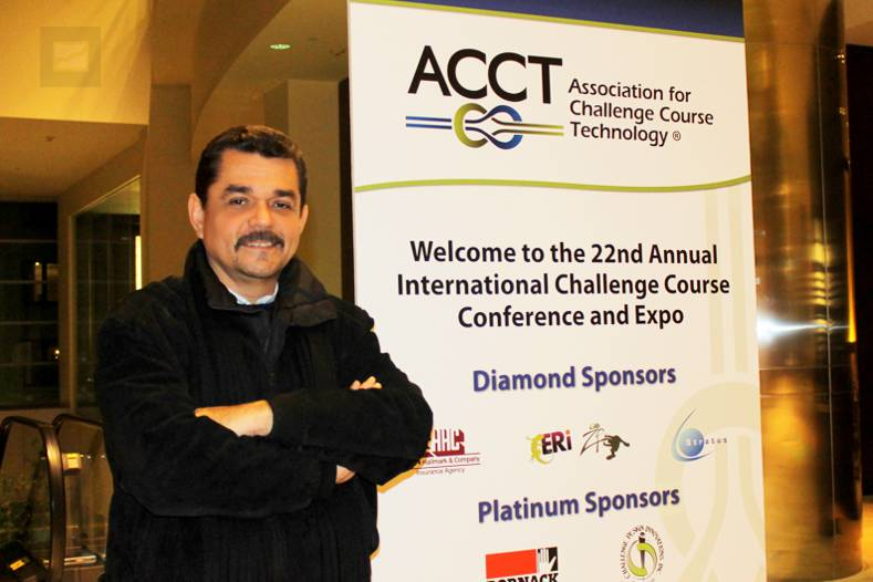 Ernesto Yturralde, conferencista en la Convenci�n 2012 de la ACCT en Boston, Massachusetts